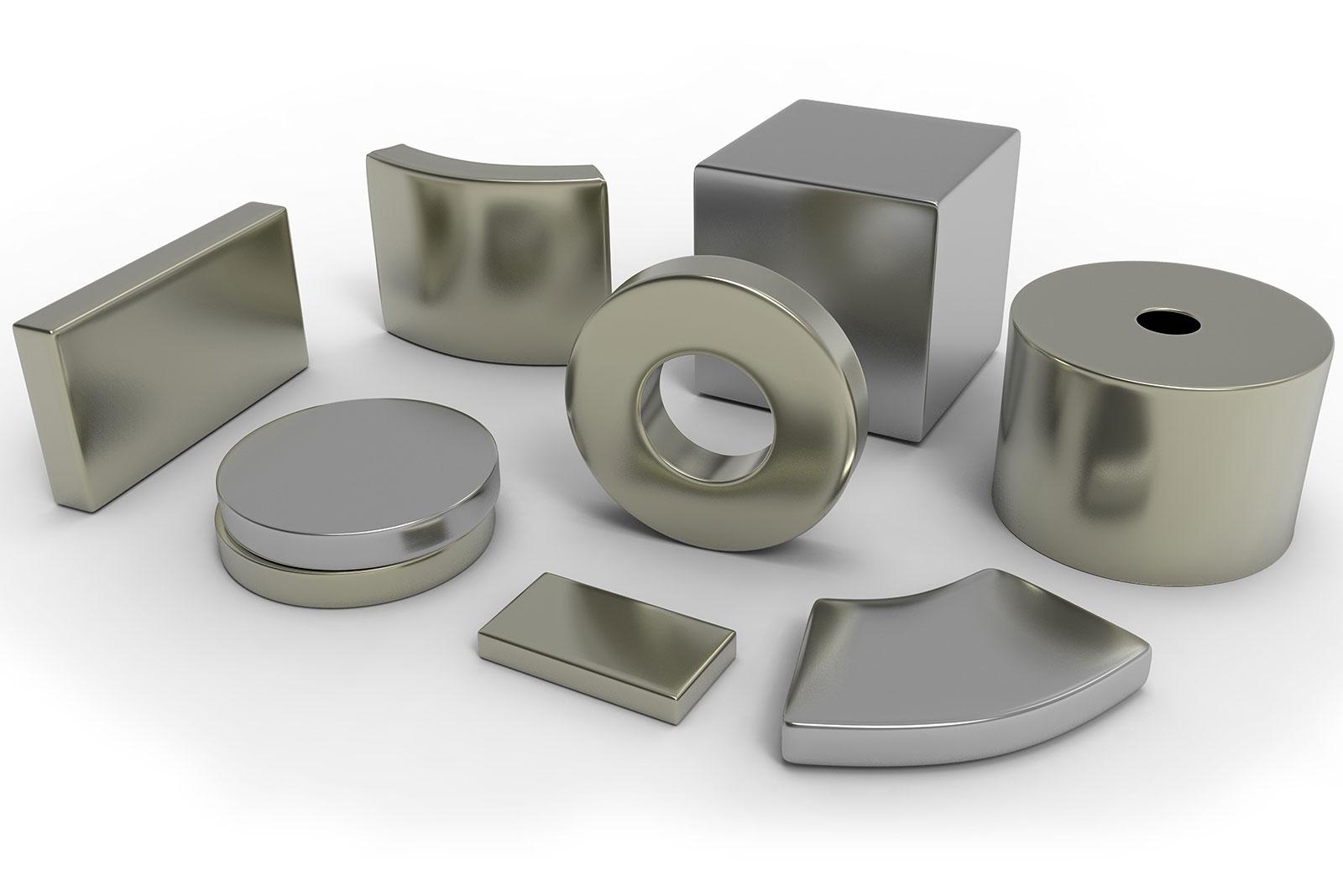 Neodym-Eisen-Bor-Magnete