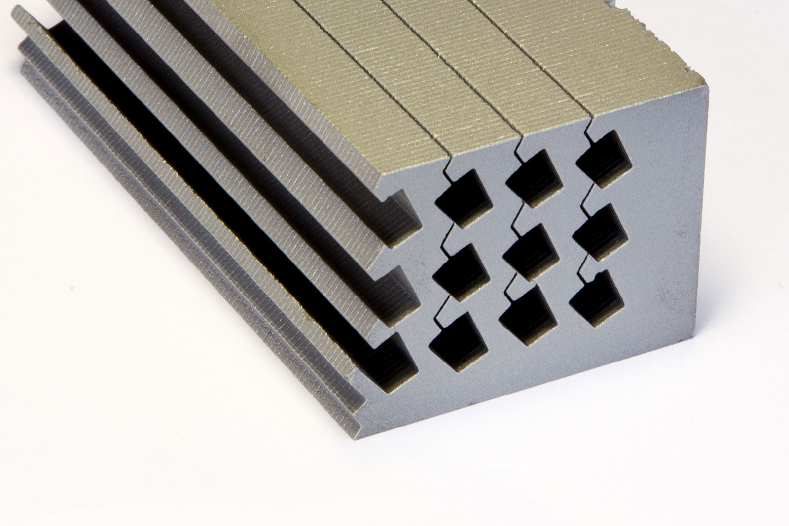 L Type Laminated Magnets