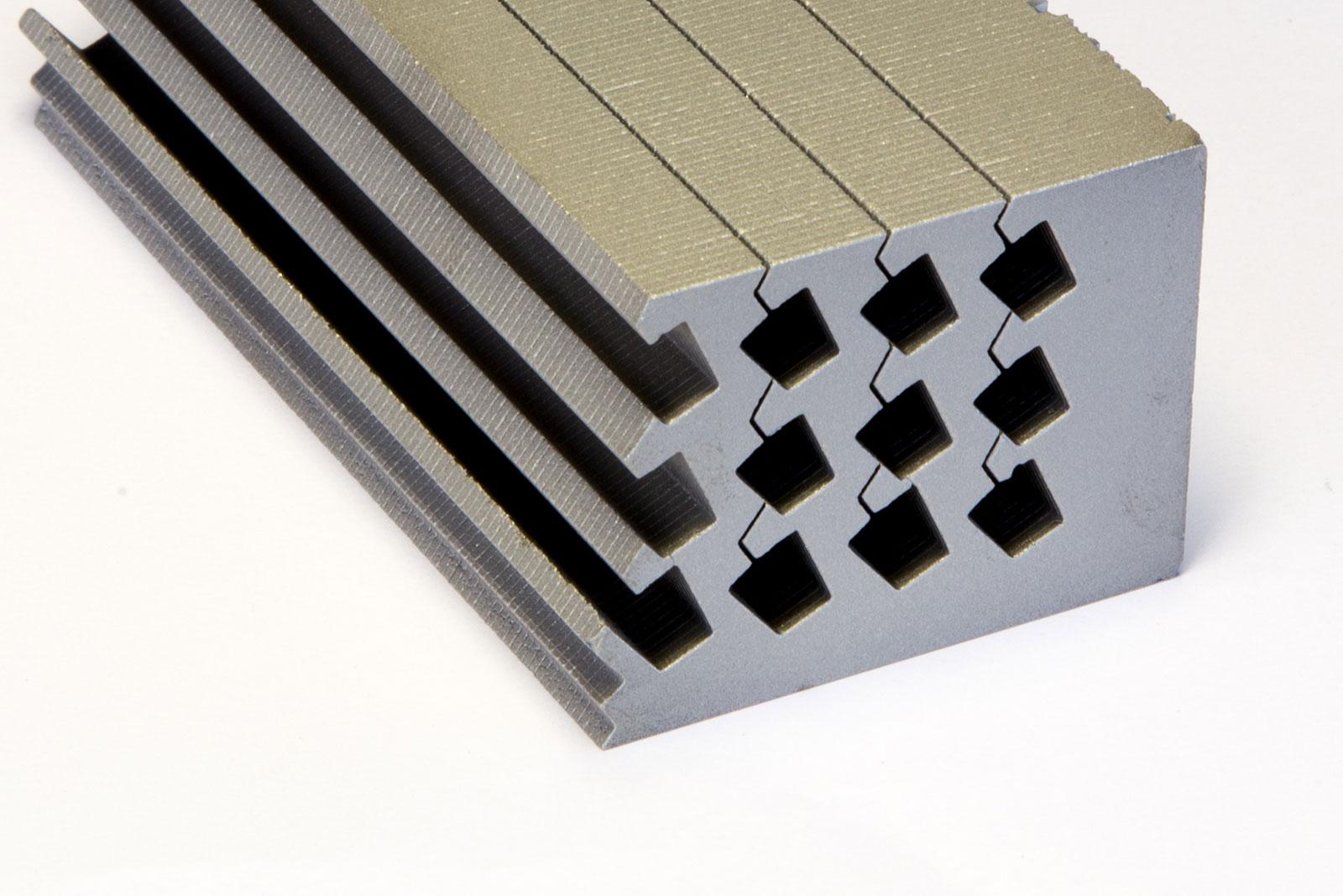 Laminated Magnets