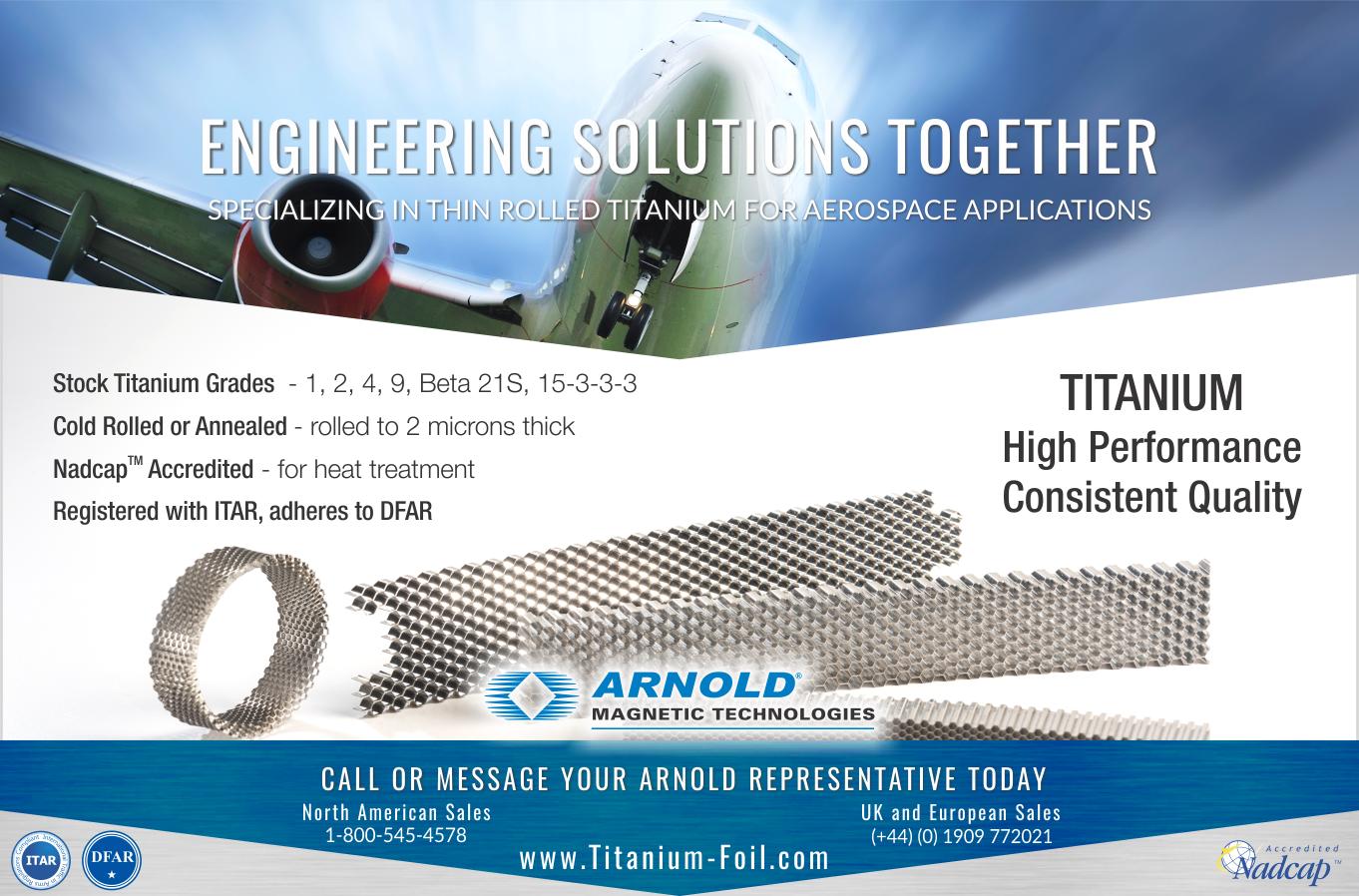 titanium for aerospace