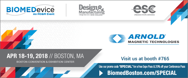 BioMed in Boston – Arnold exhibiting and taking appointments at booth 765