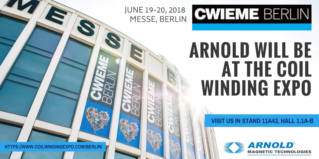 Arnold to Attend CWIEME Berlin