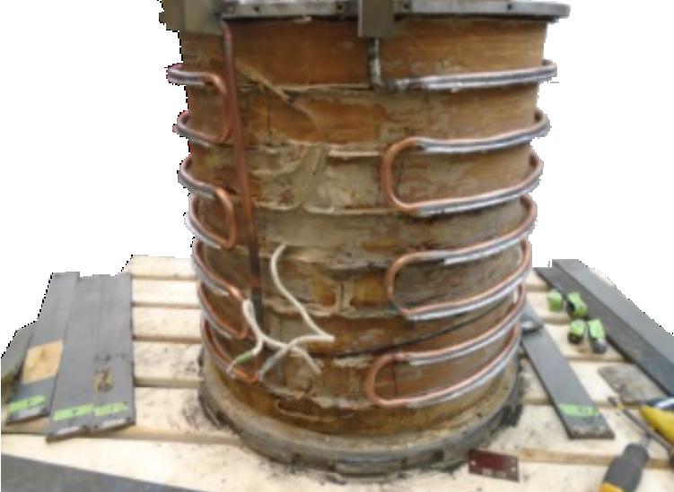 Reparatur/Überholung der Magnetspule