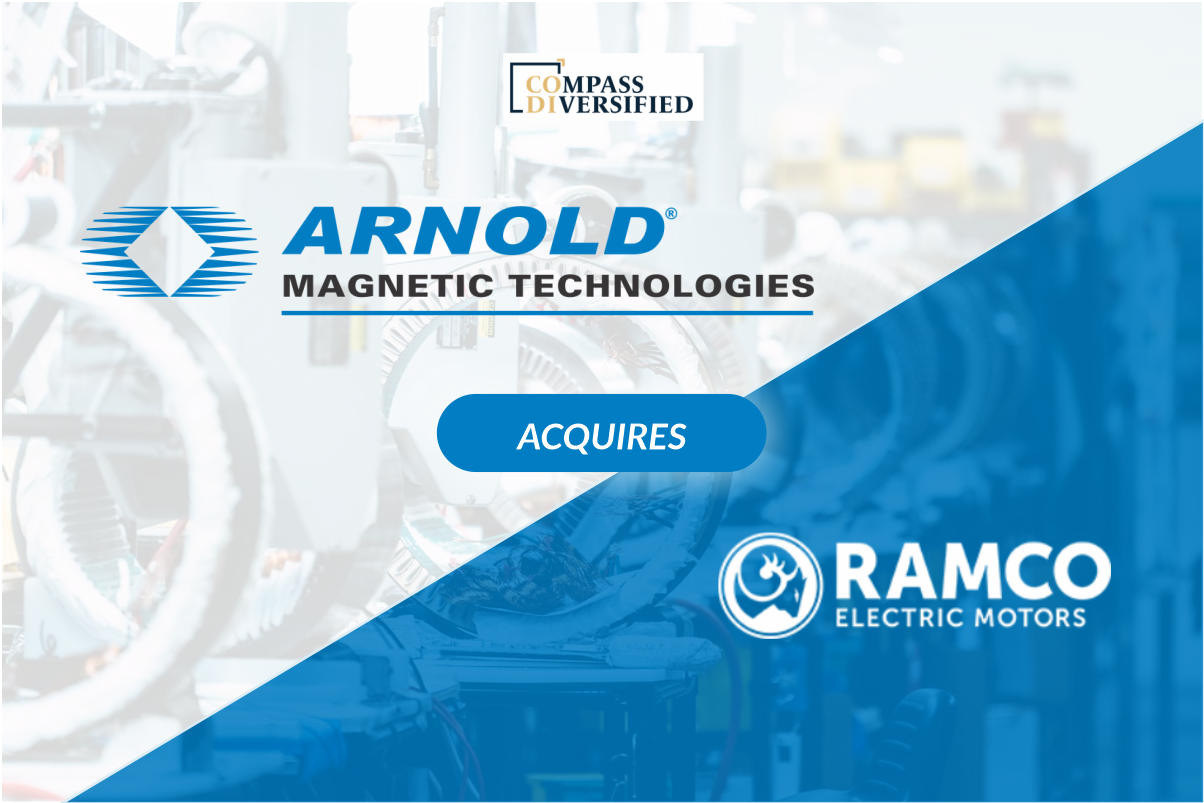 Arnold Magnetic Technologies Announces Acquisition of Ramco Electric Motors